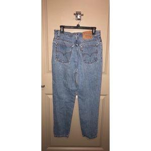 Levi light wash jeans